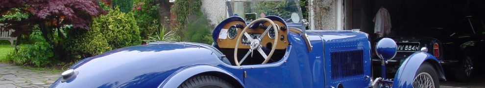 Roger Martin's 1930 Aston Martin International Chassis No. S 42. Reg No. PG 9432